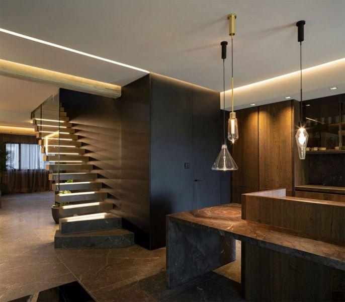 arquitectura casa frente al rio murad garcia estudio escaleras