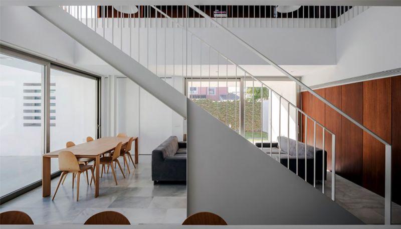 arquitectura OOOA Vivienda puerto santa maria escaleras