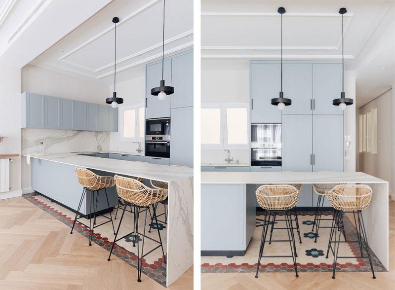 arquitectura destudio casa ensanche interiorismo cocina