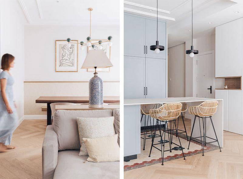 arquitectura destudio casa ensanche interiorismo salon estar