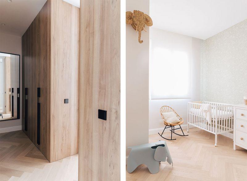 arquitectura destudio casa ensanche interiorismo armario vestidor habitacion infantil