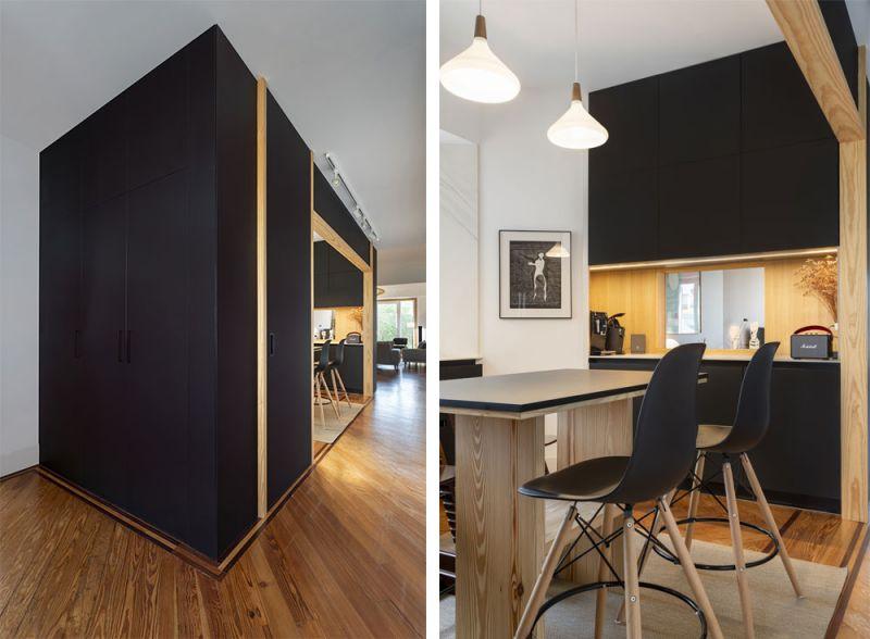 arquitectura reforma interior diaz y diaz arquitectos cubiuculo detalle armario taburete