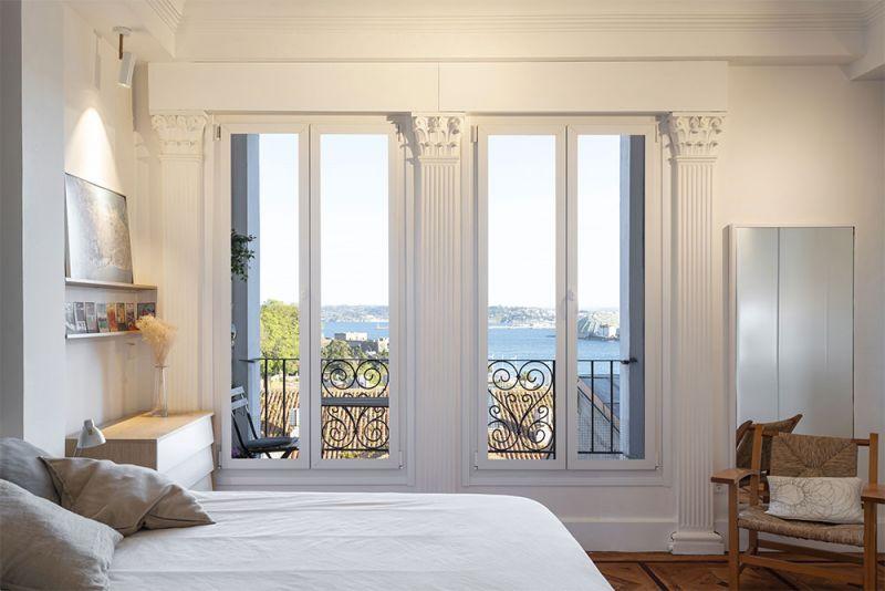 arquitectura reforma interior diaz y diaz arquitectos habitacion ventanas verticales