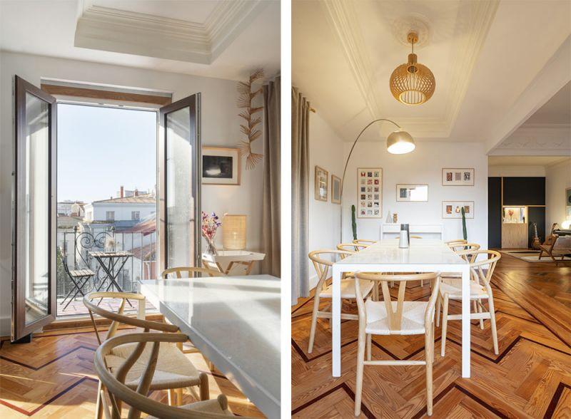 arquitectura reforma interior diaz y diaz arquitectos ventanas comedor