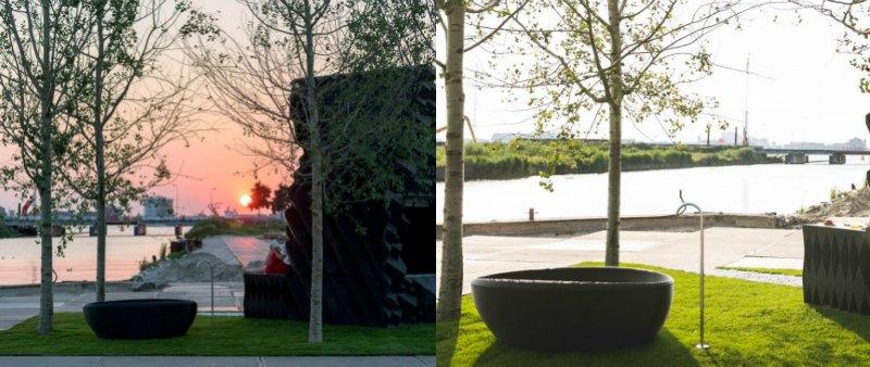 arquitectura, arquitecto, diseño, design, interiorismo, interior, vivienda, apartamento, casa, mini vivienda, tiny house, DUS Architects, Amsterdam, impresión 3D, 3D Print Canal House, Henkel, bioplástico, aceite de linaza