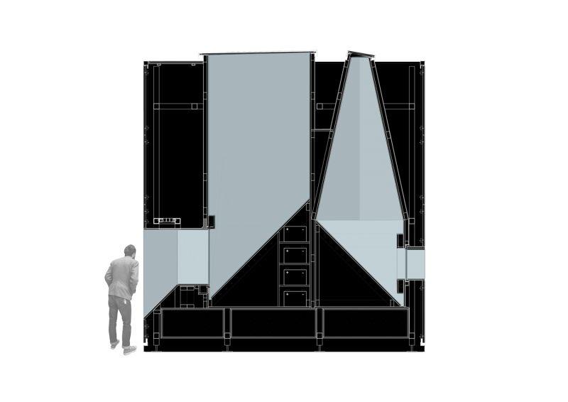arquitectura 5CUBE_sección