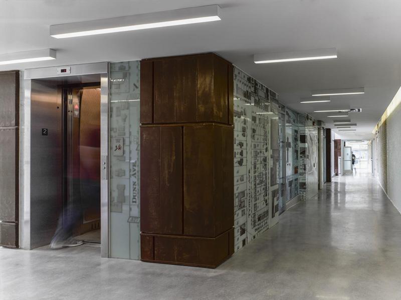 arquitectura_60_Atlantic_ interior núcleo comunicación