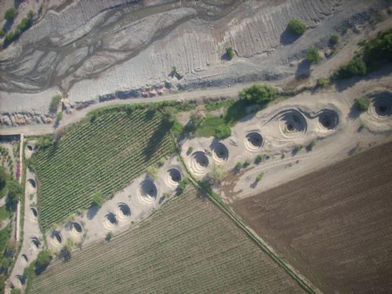 Arquitectura_Acueductos-de Nazca_vista general acueducto