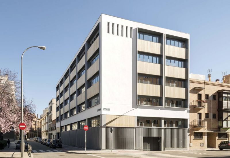 arquitectura ADOM studio NEN Nuevo Edificio Noreña Accoya fotografia exterior general