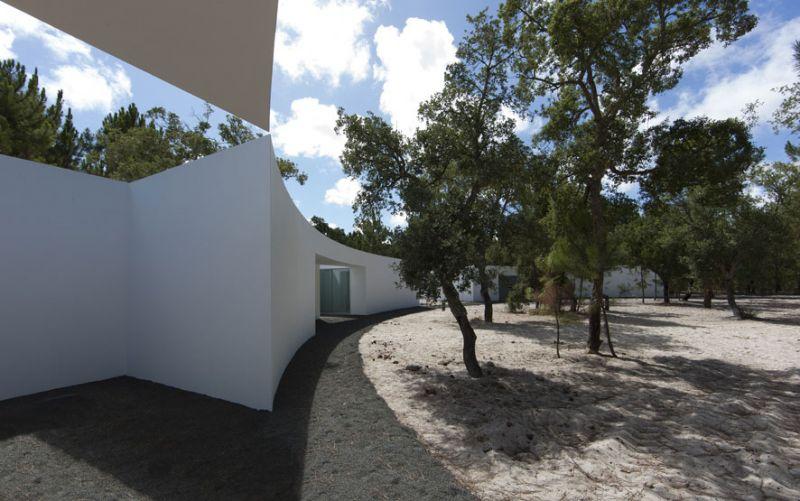 casa en la costa de alentejo aires mateus fotografía exterior 04