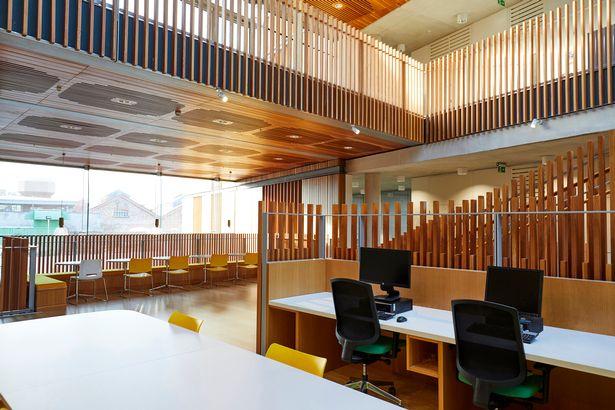 arquitectura_ Alder  Hospital_área trabajo
