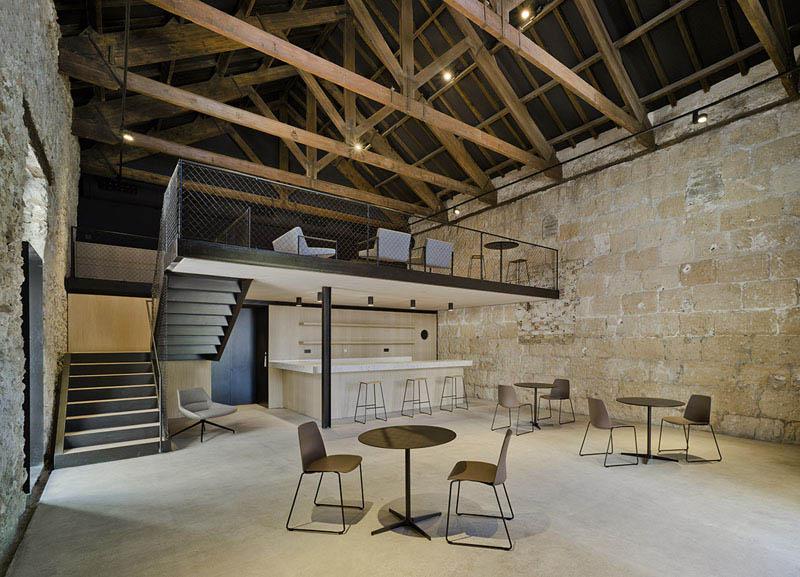 Arquitectura almacen Pesquero_Santa Pola_imagen interior cubierta