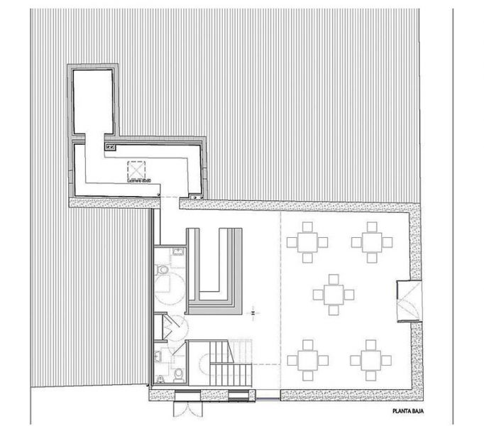 Arquitectura almacen Pesquero_Santa Pola_Estudio_planta baja