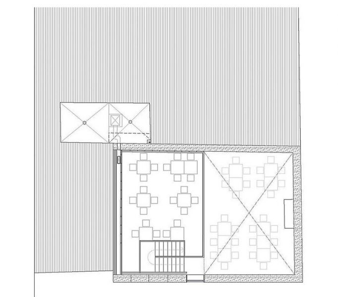 Arquitectura almacenPesquero_Santa Pola_Planta Altillo