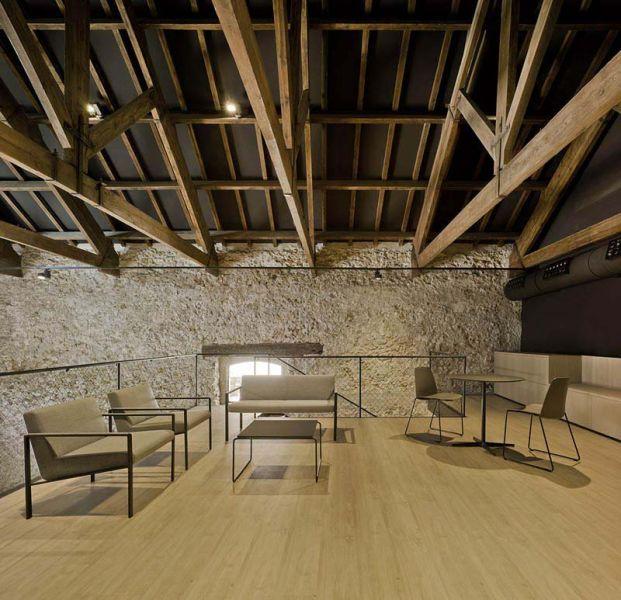 Arquitectura almacenPesquero_Santa Pola_zona del altillo
