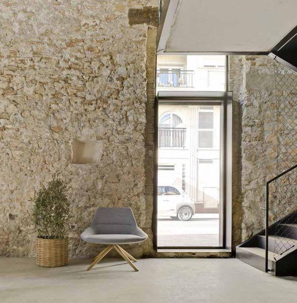Arquitectura almacenPesquero_Santa Pola_Estudio_imagen de paredes interiores