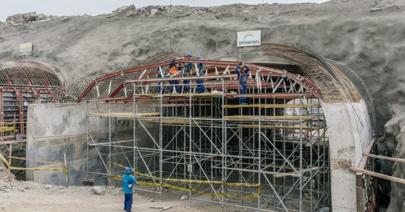 arquitectura, arquitecto, ingeniería, túnel, túneles, Perú, Lima, Puruchuco, ingeniero, internacional, Alsina, Aldesa