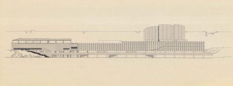 arquitectura_Alvar Aalto_finlandia hall_alzado