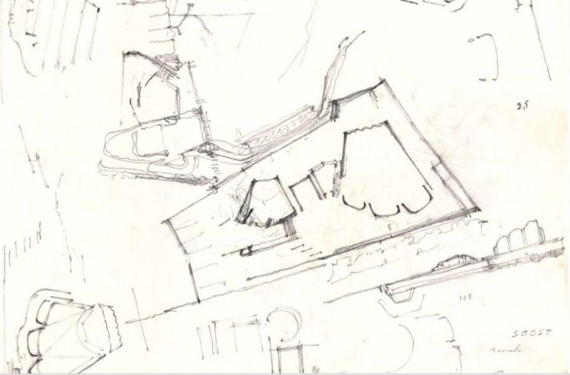 arquitectura_Alvar Aalto_finlandia hall_boceto