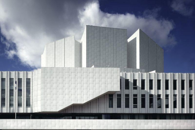 arquitectura_Alvar Aalto_finlandia hall_fachada bahía