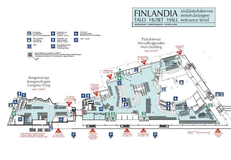 arquitectura_Alvar Aalto_finlandia hall_planta 1
