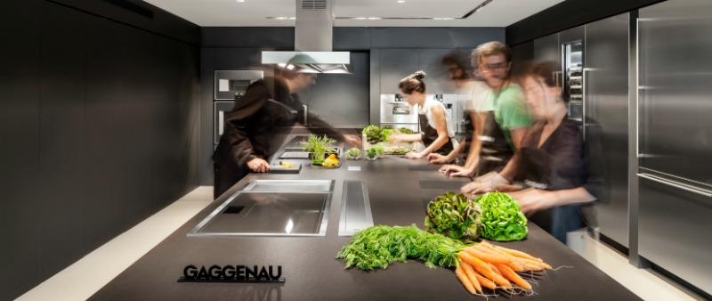 arquitectura, arquitecto, diseño, design, interior, interiorismo, Alventosa Morell Arquitectes, Showroom, Gaggenau, cocina, alta calidad, domótica, Oven EB388-110