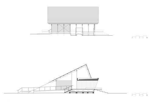 arquitectura_Anna O'Gorman_Northshore Pavilion_alzados