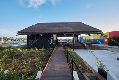 arquitectura_Anna O'Gorman_Northshore Pavilion_rampa