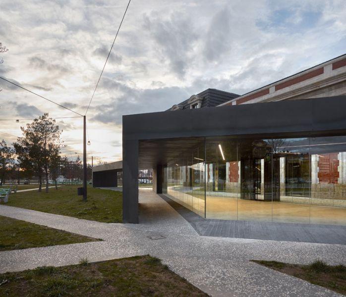 Arquitectura_ Antigua Estación Burgos_ marquesina vista 2