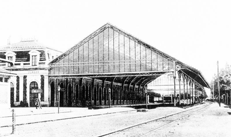 Arquitectura_antigua estacion burgos_imagen antigua marquesina