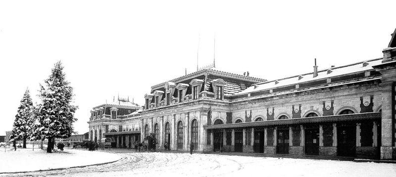 Arquitectura_antigua estacion burgos_imagen antigua