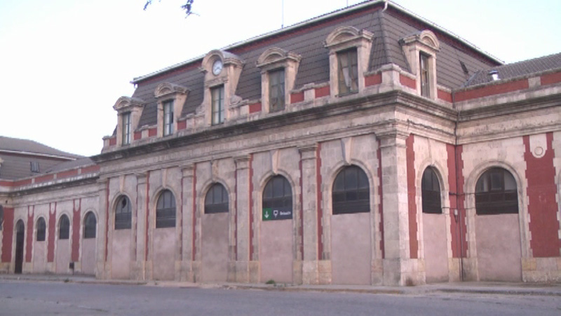 Arquitectura_ Antigua Estación Burgos_ fachada antes de la intervención