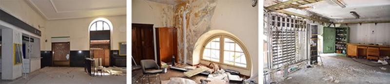 Arquitectura_antigua estacion burgos_interior nates de la rehabilitación