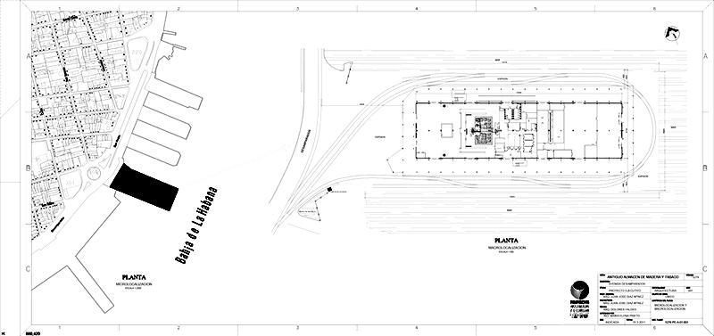 Arquitectura_Antiguo-Almacen-de-la-Madera-y-Tabaco-Plano situacion