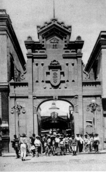 Arquitectura_Antiguo_Mercado_de_la_Victoria,_Puebla,_México imagen antigua