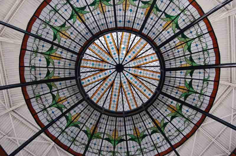 Arquitectura_Antiguo_Mercado_de_la_Victoria,_Puebla,_México detalle de la cupula