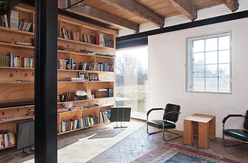 Arquitectura_antiguo molino suecia_habitacion