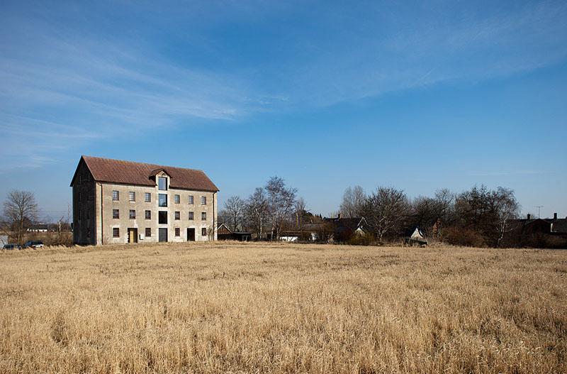 Arquitectura_antiguo molino suecia_ vista general