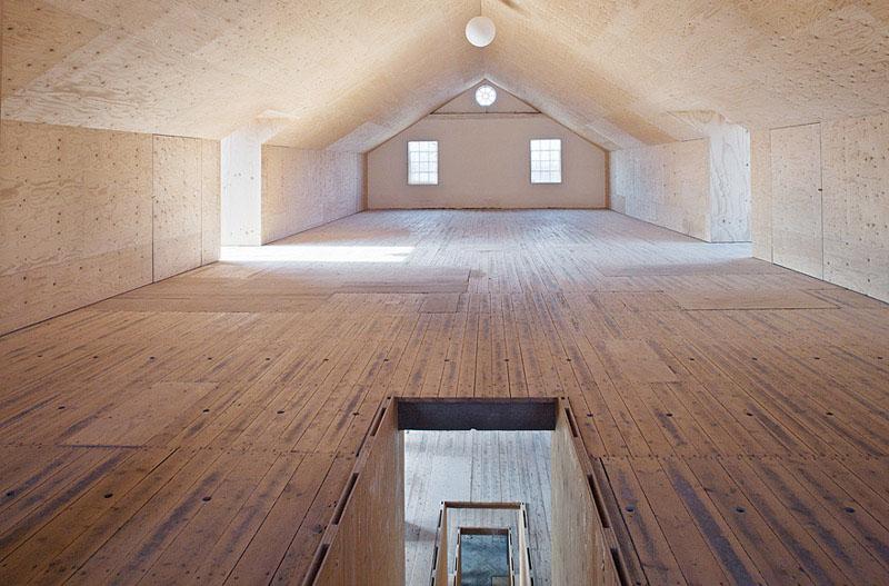 Arquitectura_antiguo molino suecia_planta bajo cubierta