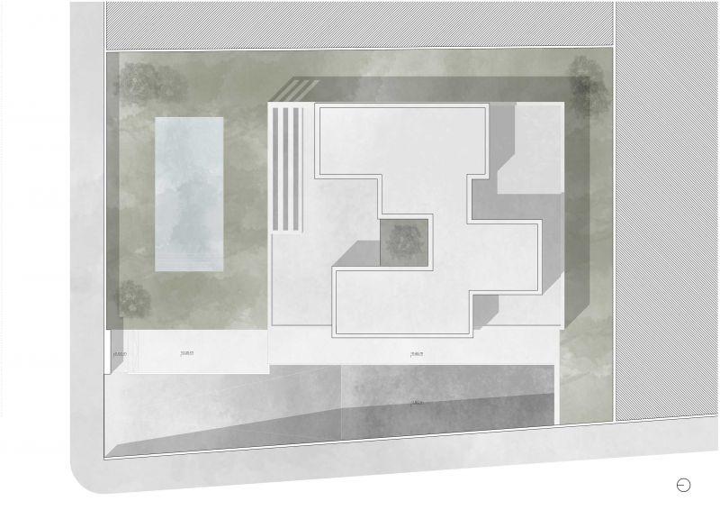 casa la cañada antonio altarriba planta cubierta