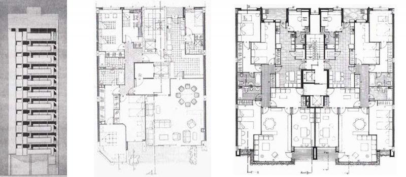Arquitectura y Empresa Antonio Escario Homenaje residencial albacete planos