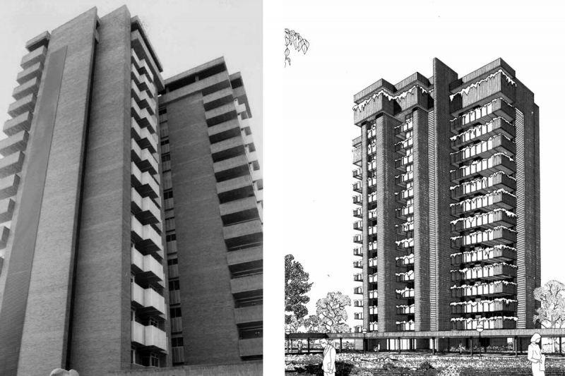 Arquitectura y Empresa Antonio Escario Homenaje grupo residencial torres de la universidad