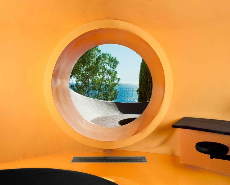 Maison Bernard de Antti Lovag arquitectura orgánica fotografia vistas interiores