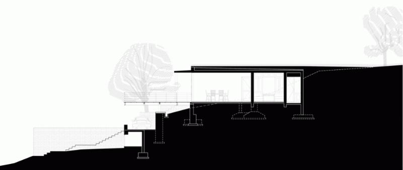 arquitectura, arquitecto, diseño, design, interior, interiorismo, sostenible, sostenibilidad, ecología, ecológico, Architecture Brio, India, Mumbai, The Riparian House, subterránea, vivienda, familiar, casa, vacaciones, enterrada, bambú, piedra caliza, vegetación, techo verde