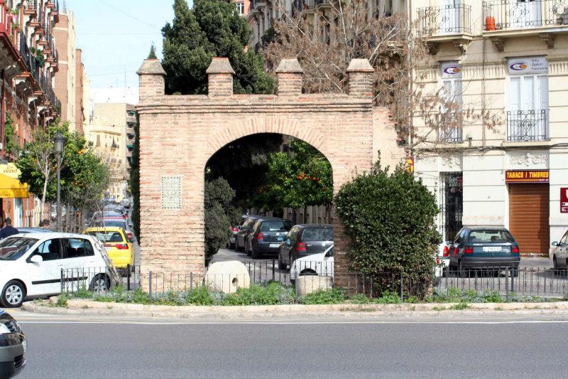 Arquitectura Arco de la Torreta Zaidia