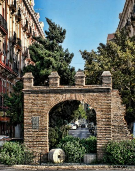 Arquitectura  Arco de la Torreta vista frontal