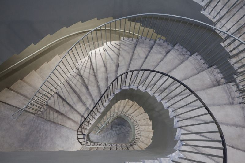 arquitectura_Aries Mateus_facultad arquitectura Bélgica_detalle escalera