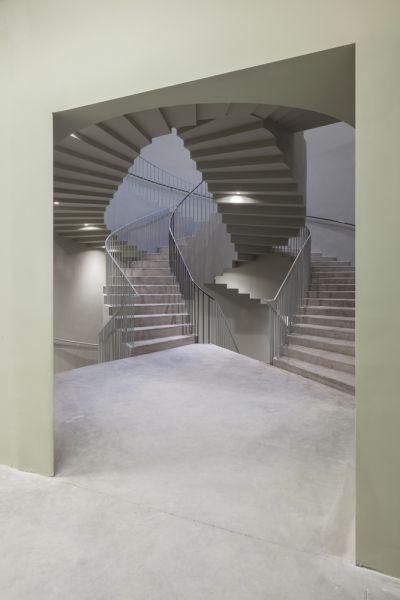 arquitectura_Aries Mateus_facultad arquitectura Bélgica_detalle escalera 2