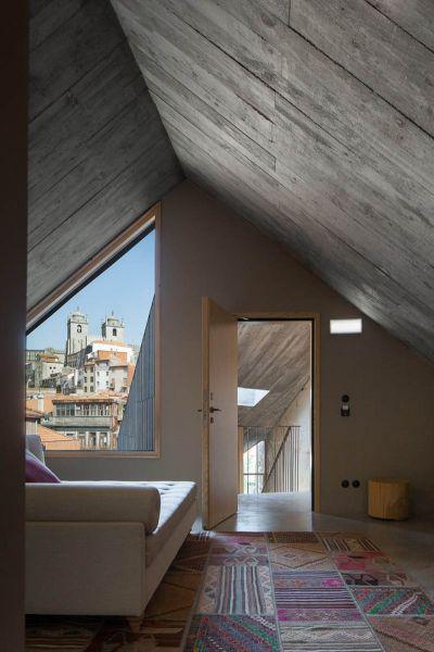 Arquitectura_ARMAZEM_LUXUR_vistas desde el interior de pisos superiores oporto