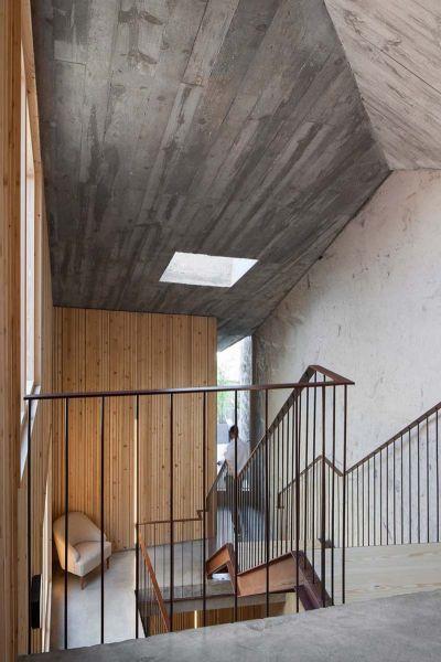 Arquitectura_Hotel armazem_imagen materiales obra